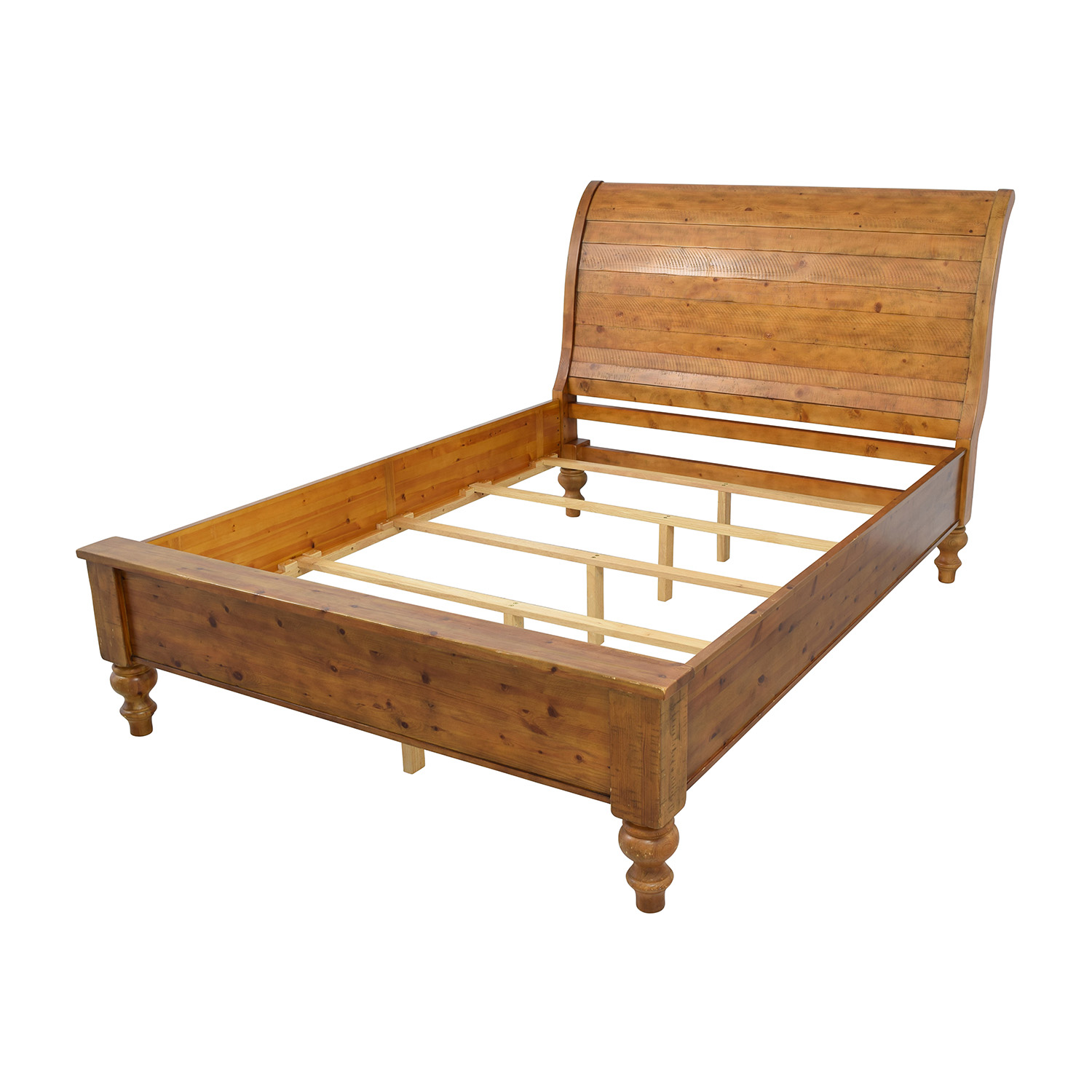 These Bed Frames Include A Support Frame For All Sides Of The Mattress Plus Legs Slats Decorative Sleigh Headboard And Low Profile
